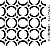 vector seamless pattern. modern ... | Shutterstock .eps vector #613493150