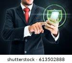 business  technology  internet... | Shutterstock . vector #613502888