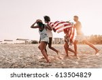 freedom is in their veins.... | Shutterstock . vector #613504829