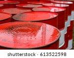 Barrels For Storing Oil...
