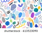 abstract creative header.... | Shutterstock .eps vector #613523090