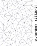 seamless geometric pattern.... | Shutterstock .eps vector #613526414