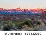Sunset At Boquillas Canyon