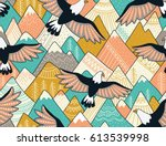 ethnic seamless pattern with...