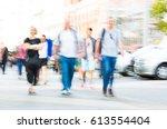 london  uk   september 8  2016  ... | Shutterstock . vector #613554404