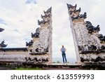 architecture  traveling and... | Shutterstock . vector #613559993