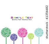 balls background | Shutterstock .eps vector #61356682