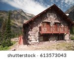 Sperry Chalet built by the Great Northern Railway in Glacier National Park, Montana
