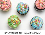 Easter Muffins With Sprinkles...