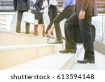 professional business people ... | Shutterstock . vector #613594148