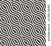 abstract geometric pattern with ... | Shutterstock .eps vector #613613690
