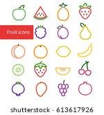 vector illustration. set of...   Shutterstock .eps vector #613617926
