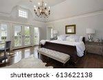 Master Bedroom In Luxury Home...