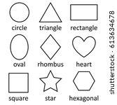 doodles vector flat design  set ... | Shutterstock .eps vector #613634678