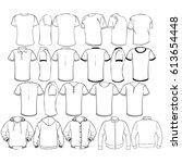 t shirt | Shutterstock .eps vector #613654448