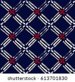 geometric ethnic pattern design ...   Shutterstock .eps vector #613701830