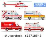 medical concept. detailed... | Shutterstock .eps vector #613718543