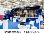 Small photo of Hannover, Germany - March, 2017: Sophos Next-gen ceber security company stand interior on exhibition Cebit 2017 in Hannover Messe, Germany