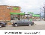 seattle  washington usa   march ... | Shutterstock . vector #613732244