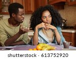 why did you do this to me ... | Shutterstock . vector #613752920