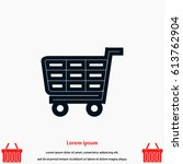 shopping icon  vector eps 10...