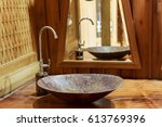 Vintage Brass Wash Basin And...