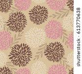 summer flower seamless pattern. ...   Shutterstock .eps vector #613770638