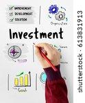 business plan entrepreneur...   Shutterstock . vector #613831913
