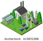 Power Station With Different...
