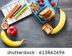 School Lunch And Stationery On...