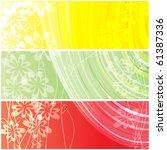 abstract background. vector... | Shutterstock .eps vector #61387336