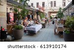 budapest  hungary  july 12 ... | Shutterstock . vector #613910174