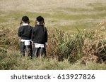 jews  jewish  judaism  hasidim  ... | Shutterstock . vector #613927826