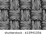 vector seamless pattern. you... | Shutterstock .eps vector #613941356