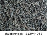 tea leaves macro | Shutterstock . vector #613944056