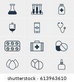 vector illustration of 12...   Shutterstock .eps vector #613963610