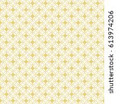 vector seamless pattern.... | Shutterstock .eps vector #613974206