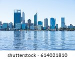 april 2  2017  scenic skyline... | Shutterstock . vector #614021810