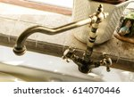 Old Antique Hot And Cold Tap I...