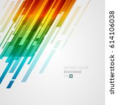 abstract technology bright... | Shutterstock .eps vector #614106038