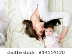 mother with baby | Shutterstock . vector #614114120