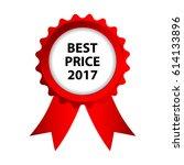 special red badge  best price...   Shutterstock .eps vector #614133896