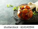 Preserved Tomatoes With Dill...