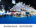 blurred background of event... | Shutterstock . vector #614156180