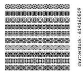 asian frame ornament  pattern... | Shutterstock .eps vector #614160809