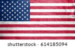 flag of united states | Shutterstock . vector #614185094