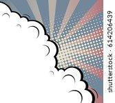 abstract creative concept comic ... | Shutterstock .eps vector #614206439