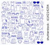 sale shopping market internet... | Shutterstock .eps vector #614214254