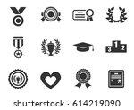 award web icons for user...   Shutterstock .eps vector #614219090
