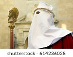 enna  sicily  italy   march 25  ... | Shutterstock . vector #614236028